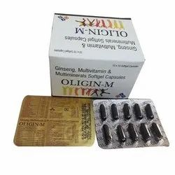 Ginseng Multivitamin and Multimineral Softgel Capsule