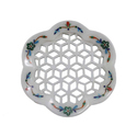 Flower Design Marble Soap Dish