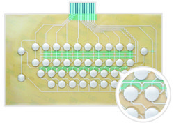 Poly Dome membrane Keypad