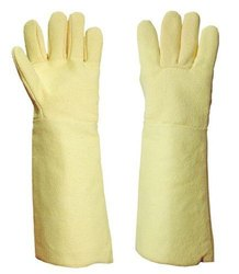 Yellow Kevlar Gloves