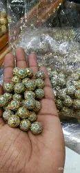 Meenakari Pendant Malti Beads