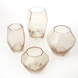 SHGE Handicraft Glass Planter, Size: Medium