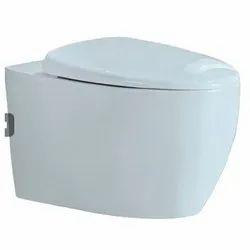 VGS-WHT-0118 360 X 380 X 570mm Wall Hung Toilet
