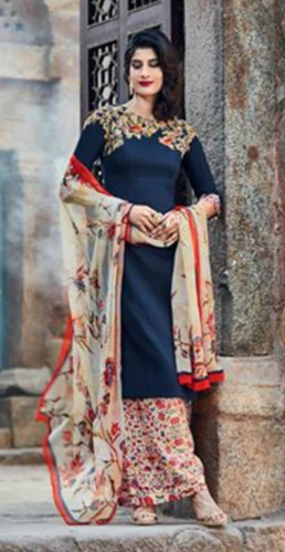 ee2a7066f16 Kimora Heer Semi Stitched Salwar Suits - Kartik Collection