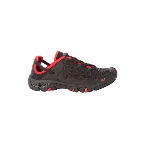 Wildcraft Men trail running shoes - red