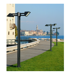 Designer Garden Light Poles