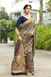 Festive Wear Banarasi Silk Woven Saree