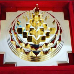 Golden Meru Shree Yantra