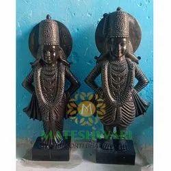 Marble Vitthal Rukmani idol