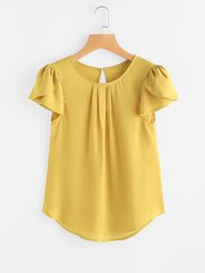 Yellow Girls Tops