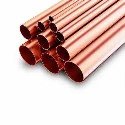 Indigo Round High Conductivity Copper Tubes