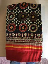 Wax Batik Satin Cotton With Pure Dupatta