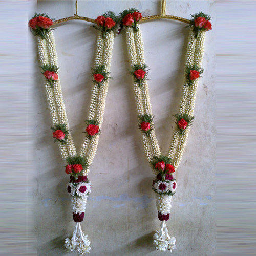 fresh flower garlands for weddings wedding garland at rs 500 koyambedu 4361