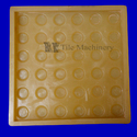 PVC Yellow Designer Tile Moulds
