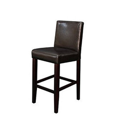Wood Black Bar Chair, Height: Up to 4 feet