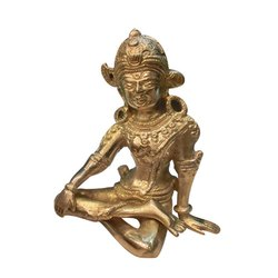 Brass Indra Dev Statue