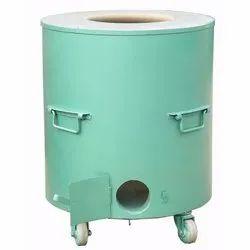 Round MS Portable Drum Tandoor for Hotel
