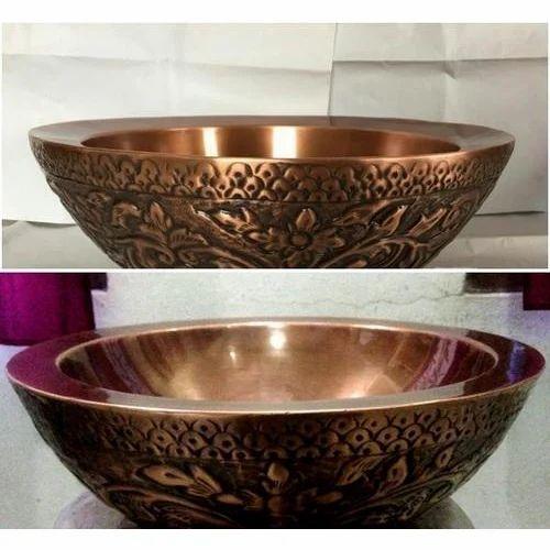 Designer Copper Sink