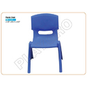 Blue Plastic Kids Chair
