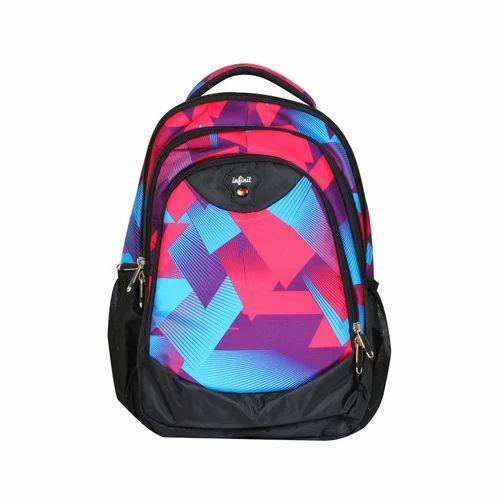Infinit Backpack Sky Blue/ Crimson