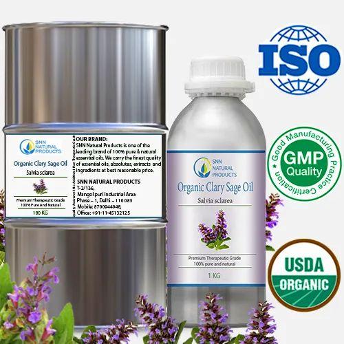 Organic Essential Oil E To K Organic Clary Sage Oil