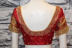 Simple Bridal Blouse