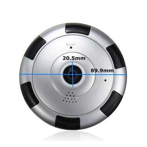 Wifi Ip 360 Degree Fisheye Cctv Camera