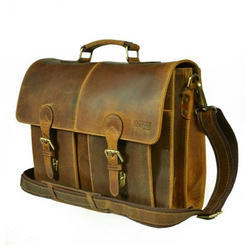 Leather Portfolio Bag