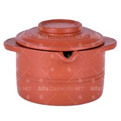 Terracotta Soup Pot With Lid
