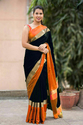 Women Cotton Silk Saree