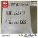 Sodium Metabisulphite Food Grade