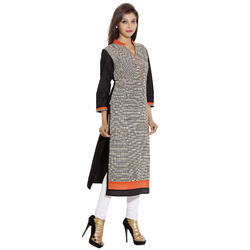 Casual Cotton Printed Kurtis