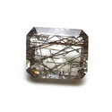 Cushion Cut Black Rutilated Quartz Loose Natural Gemstone