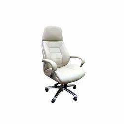 White Office Revolving Chair