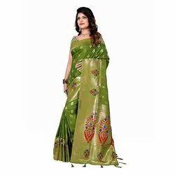 1053 Handloom Silk Saree