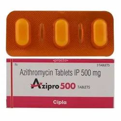 Azithromycin 250/500 Mg Tablets