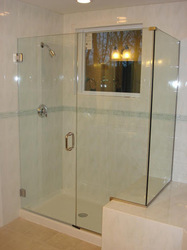 Designer Frameless Shower Enclosure