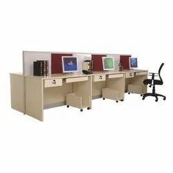 Linear 2 Face Modular Workstation