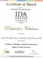 Award for XPO-SPS By IDA Awards Corporate 2019