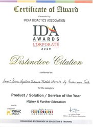 Award for XPO-SPS By IDA Awards Corporate 2019