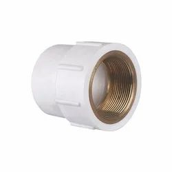 UPVC Female Adaptor Brass Thread