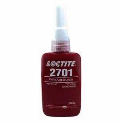 Loctite 2701 Threadlocker, Permanent Strength, Oil Tolerant