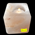 Salt Candle Holder