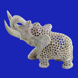 Soapstone Handmade Elephant Statue