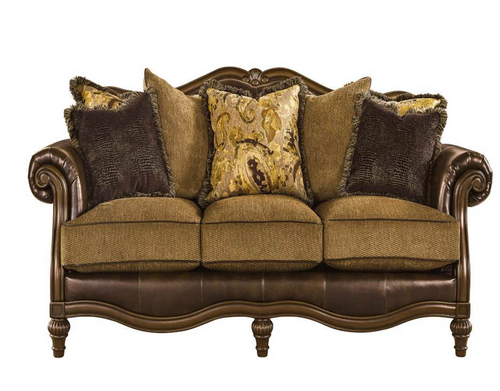 Brown Color English Sofa