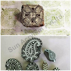 Wooden Wooden Printing Stamp Block