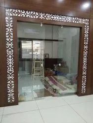 Toughened Glass for Office Partition,Showroom,Roof,Railing And Etc
