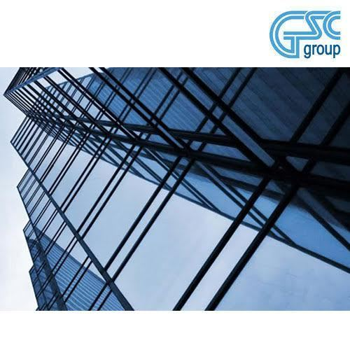 GSC Sky Blue Flat Float Toughened Glass