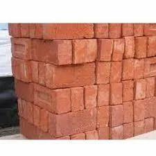 Rectangular Red Clay Bricks