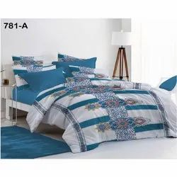 Sig. Magnum Printed Double Bed Sheet